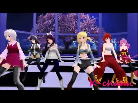 【MMD x Fairy Tail】 Follow The Leader (DL Models)