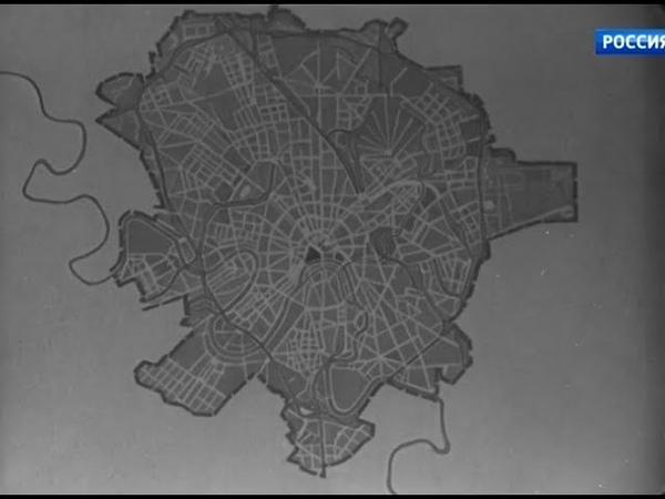 На стройках Москвы. ЦСДФ, 1951 г.