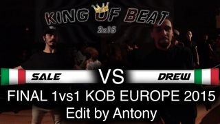 KOB EUROPE   Final 1vs1   SALE (Italy) vs. DREW (Italy)