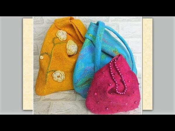 3 сумки одного фасона на разные случаи жизни И даже👜 двусторонняя