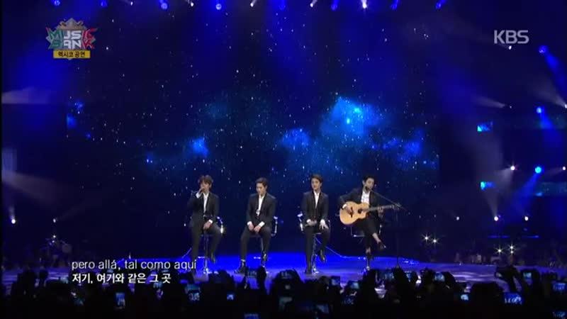 (MusicBank in Mexico)-EXO-K - Sabor a Mi.20141112