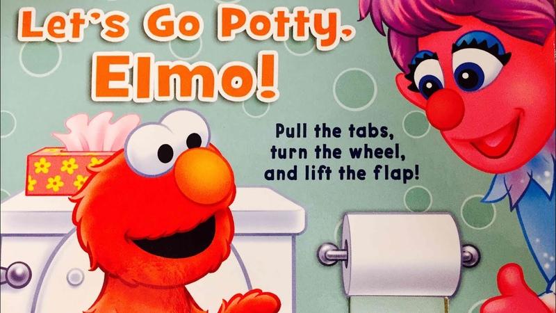 Let's Go Potty, Elmo! Read Aloud Sesame Street Book by Books Read Aloud For Children