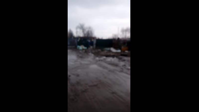 Результат мусорной реформы. г.Тула, ул.Седова/ул.Филимоновская