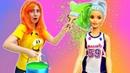 Барби сошла с ума! Кен и Тереза снова вместе - Мультик с куклами - Я не хочу в школу 28