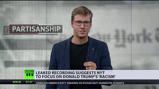 """Rassismus"" statt ""Russland"": New York Times ändert Kampagne gegen Trump"