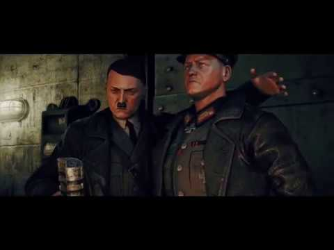 All Hitler prologue cutscene Zombie Army Trilogy