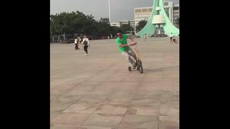 Стоячий велосипед