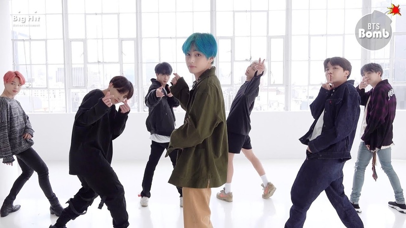 [BANGTAN BOMB] 작은 것들을 위한 시 (Boy With Luv) Dance Practice (Eye contact ver.) - BTS (방탄소년단)
