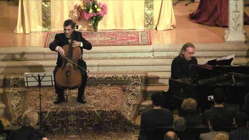 01 Pastoral BWV 590 de A Antonian cello y J A Álvarez Parejo piano