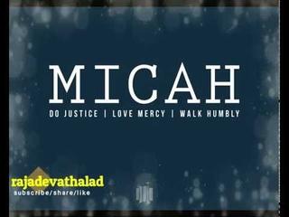మికా  || MICAH || Zac Poonen Telugu Christian Messages