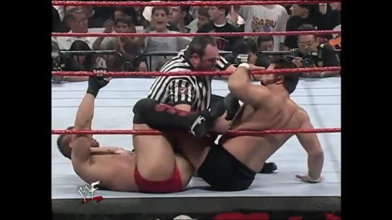 Ken Shamrock vs Dan Severn RAW is WAR 24 08 1998