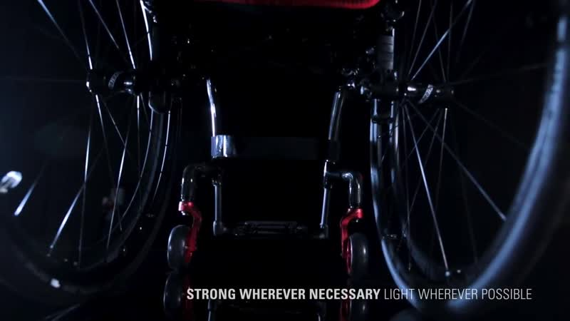 Quickie Krypton Carbon Wheelchairs - Two wheelchairs one concept