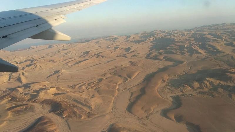 Посадка самолета Boeing 737 в Египте Таба