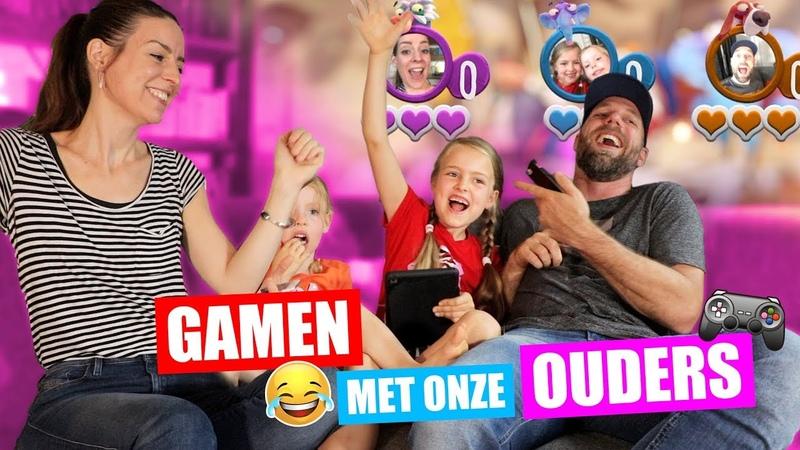 GAMEN met onze PAPA EN MAMA Frantics Spelen Op PS4 ♥DeZoeteZusjes♥