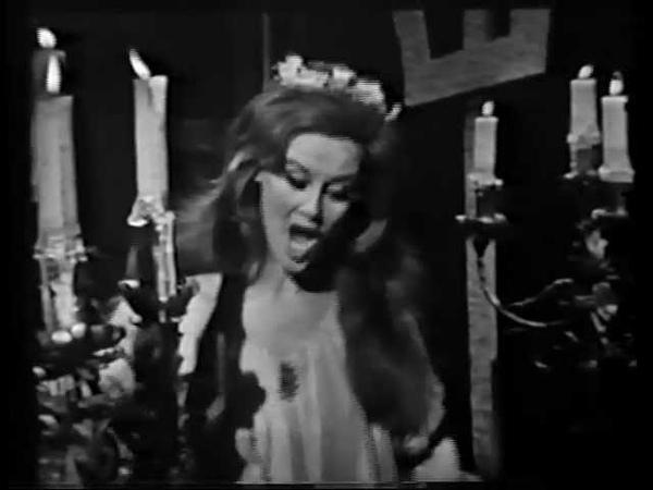 GIANNA D'ANGELO Hamlet Ophelia: A vos jeux, mes amis - 1960's