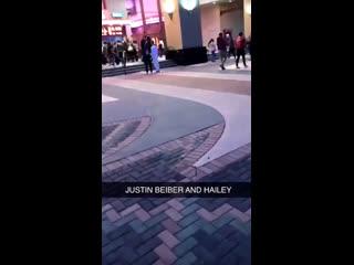 Fan taken video of justin bieber in aliso viejo, california. (march 29)
