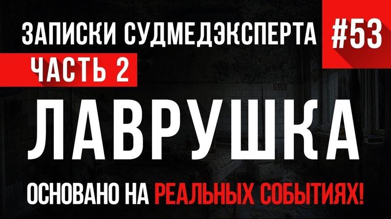 «Лаврушка» (часть 2) Записки Судмедэксперта 53 18