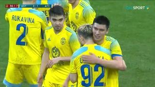 Обзор матча «Астана» - «Атырау» - 6:2. OLIMPBET-Чемпионат Казахстана. 4 тур