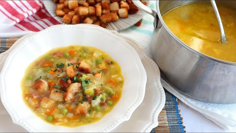 Sopa Juliana de verduras ¡La cena perfecta