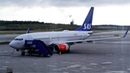 Boeing 737 -700 SAS Стокгольм - Цюрих