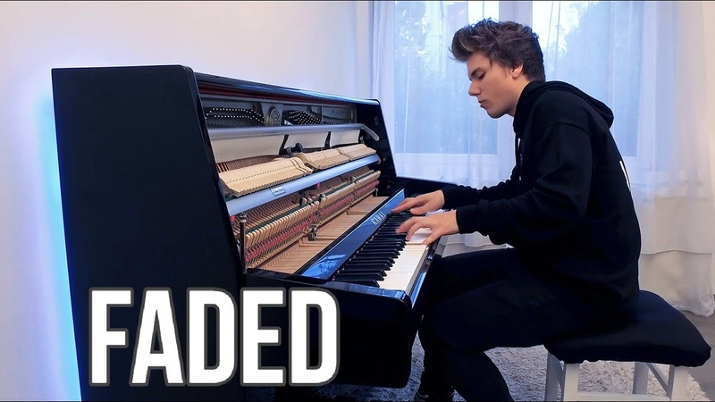 Alan Walker Faded Piano cover by Peter Buka