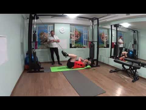 Гимнастика на кроссовере после операции на колленном суставе резекция миниска
