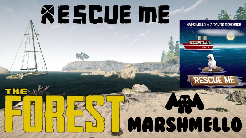 Marshmello Rescue Me ft A Day To Remember Game Music Video