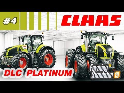 Farming Simulator 19 ⁂ Техника CLAAS, DLC Platinum, стрим4