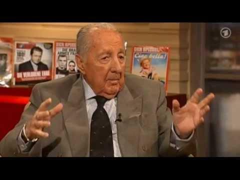 Peter Scholl Latour Muammar al Gaddafi gepfählt mit Eisenstange