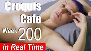 CROQUIS CAFE: Art Models for Drawing, No. 200