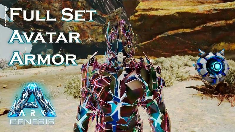 Full Set Avatar Armor Genesis Chronicles
