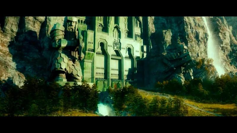 История королевства Эребор нападение Смауга Хоббит Нежданное путешествие 2012г