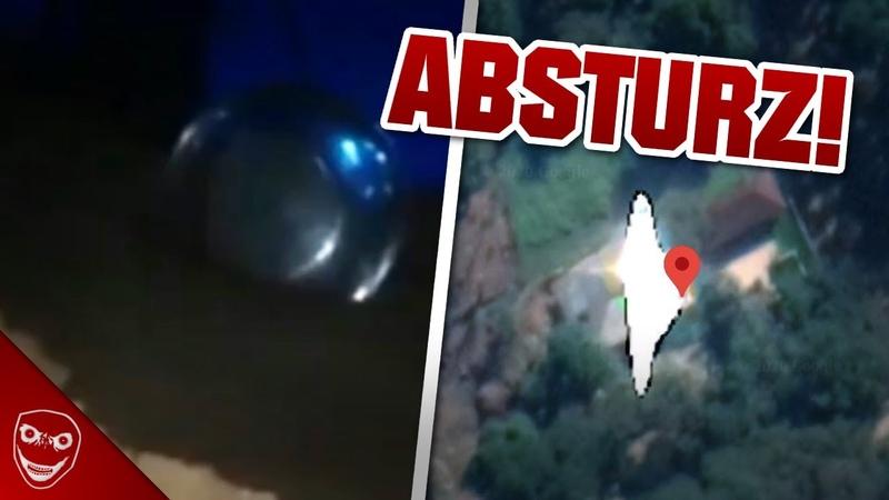 Etwas GRUSELIGES passierte am 13 05 UFO Absturz in Brasilien
