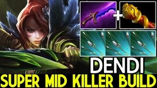DENDI [Windranger] Super Mid Killer Build Shadow Blade Ganking  Dota 2