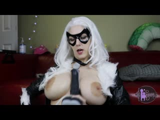 princessberpl black cat competes for spiderman