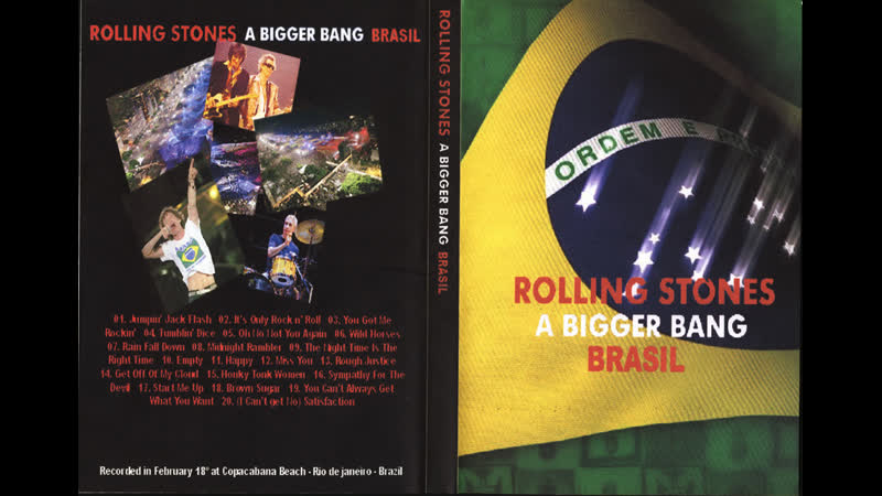 The Rolling Stones - Rain Fall Down (Live at Copacabana Beach, Rio De Janeiro, 18th February 2006)