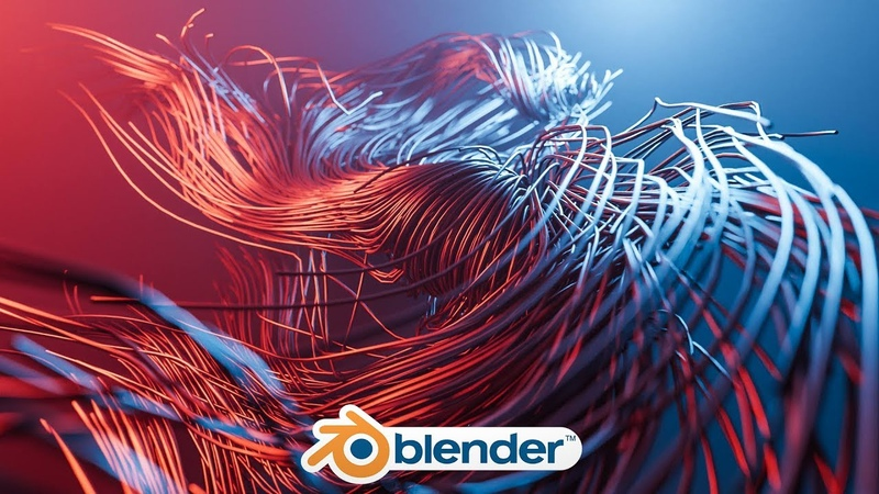 Blender - Simple Sci-fi Tentacle-like Design (Blender 2.8)