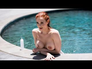 Maitland Ward - Wet And Wild Brazzers Big Tits, Blowjob (POV),  Redhead, Small Ass, Tattoo