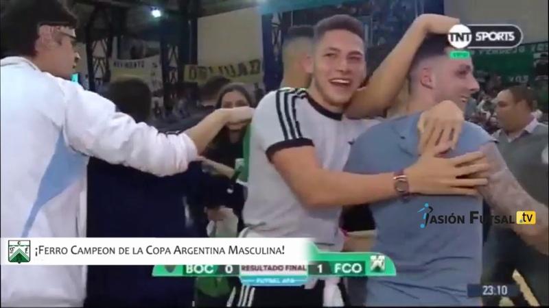 Pasión Futsal TV: Boca 0-Ferro 1 (Copa Argentina Masculina-Final 2019) FUTSAL AFA