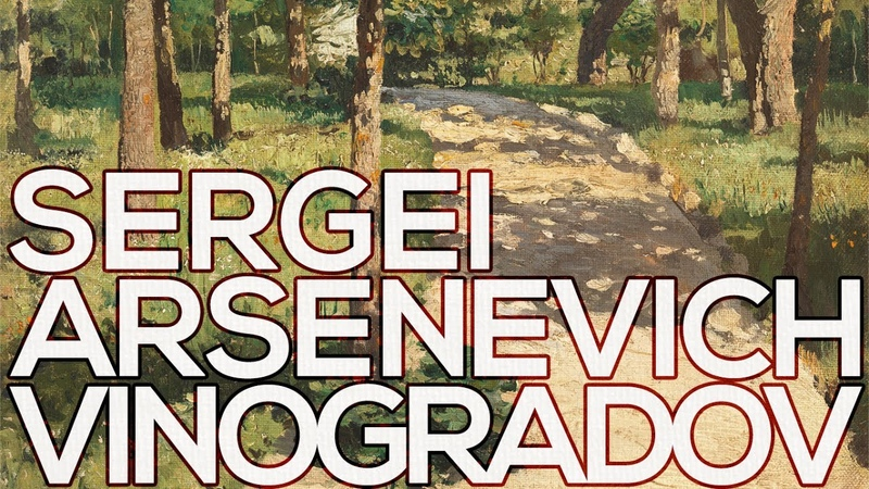 Sergei Arsenevich Vinogradov A collection of 150 paintings (HD)