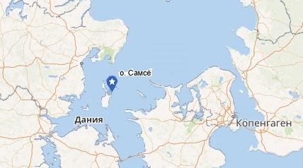 На Острове Самсё до сих пор находят артефакты времен викингов.