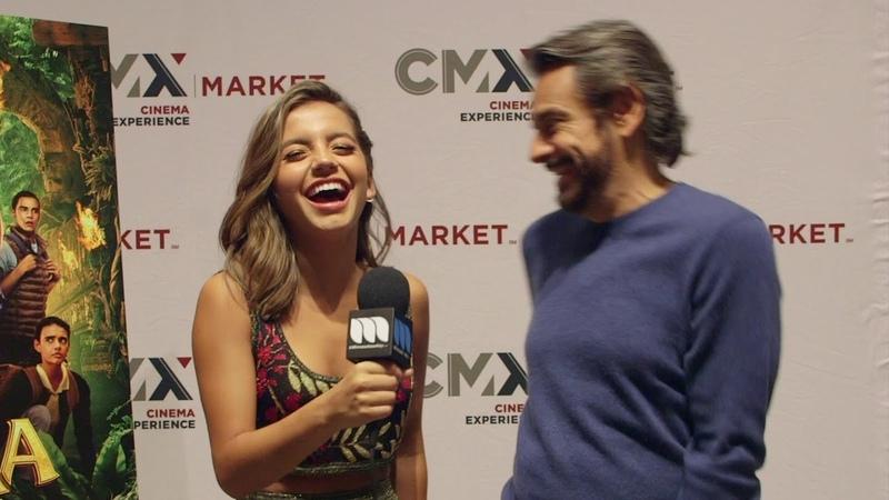 7 августа: Entrevista CMX Eugenio Derbez e Isabela Moner - Dora The Explorer and The Lost City of Gold