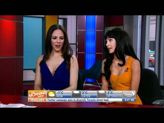 Lost Girl stars Anna Silk and Ksenia Solo on The Morning Show