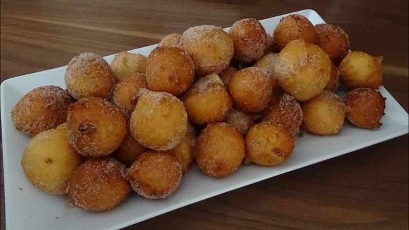 Творожные Пончики Воздушные Мягкие как пух с хрустящей корочкой