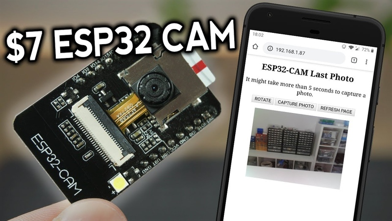ESP32 CAM Take Photo and Display in Web Server with Arduino IDE