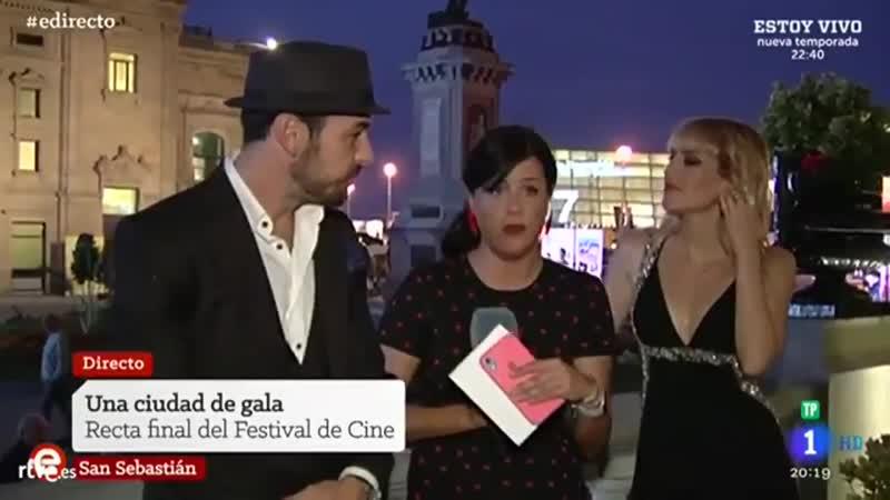Mario Casas arrive the Maria Cristina hotel during the 67th San Sebastian Donostia International Film Festival -