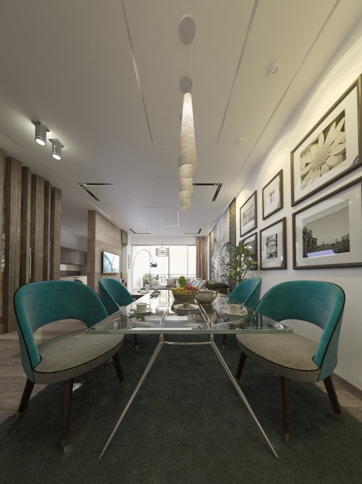 Apartment simplicity design
