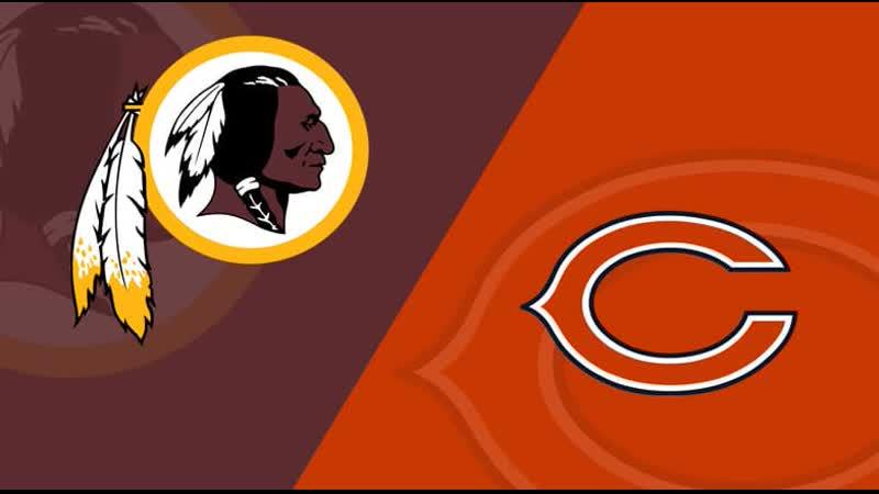 Week 03 23 09 2019 CHI Bears @ WAS Redskins