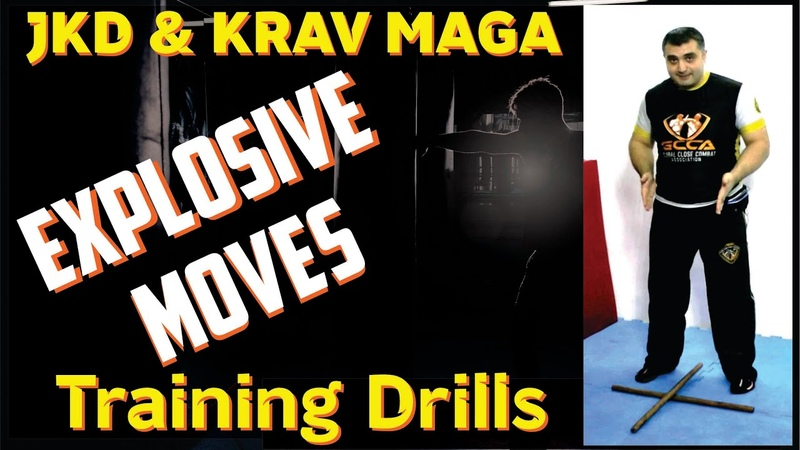 JEET KUNE DO KRAV MAGA - How to Build Explosive Fighting Moves/MMA Adoptable