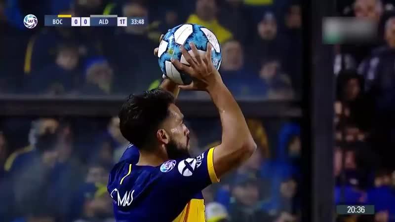Boca Juniors vs Aldosivi (2-0) - Resumen - Superliga Argentina de Fútbol 2019.mp4